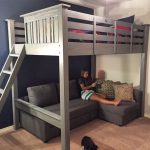 RYOBI NATION - Loft Bed with Pullout Couch - #abovecouch #bed #Couch #Loft #NATI...