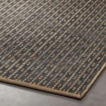 Rail Jute and Cotton Rug 9'x12'