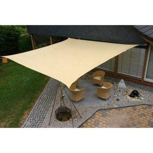 Sol Armor 10′ Square Shade Sail