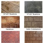 Stamped concrete brings the look of natural stone and other natural materials at...