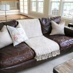 Styling Your Brown Leather Sofa - The Decorologist - The Decorologist