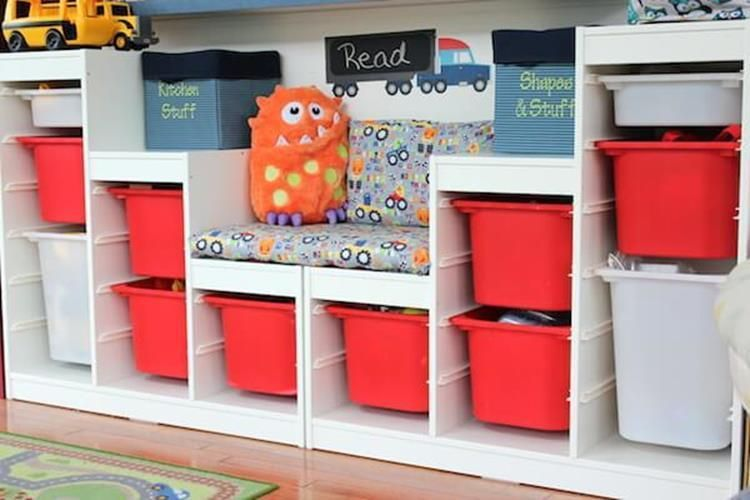 The Most Adorable IKEA Toy Storage – Craft and Home Ideas