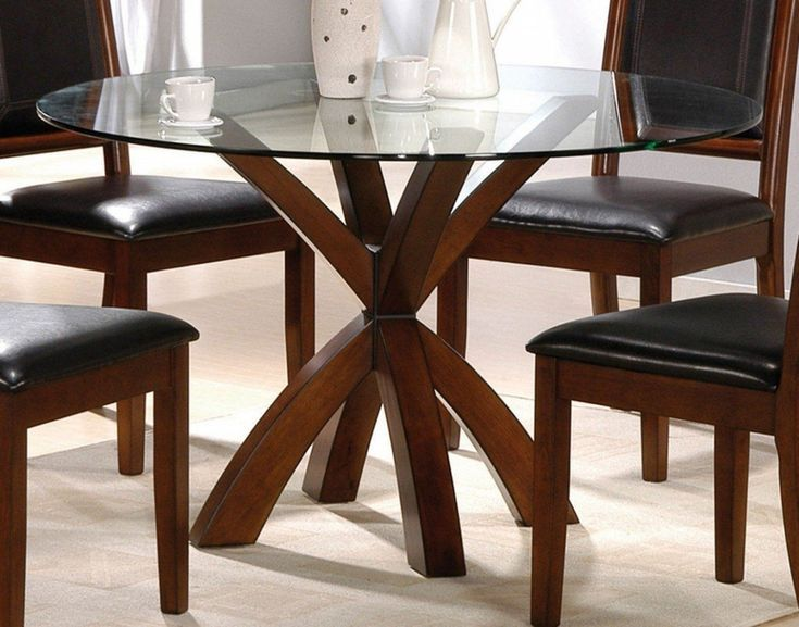 The Real Reason Behind Round Glass And Wood Dining Table- The Real Reason Behind…