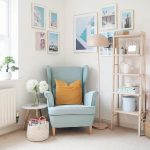 The pop of colour with the STRANDMON wing chair really lifts this living room. I...