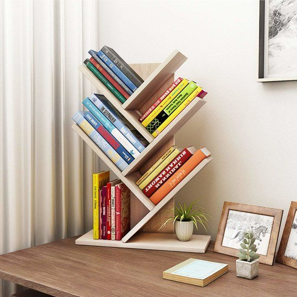 Tolland 3 Tier Shelf Display Ladder Bookcase