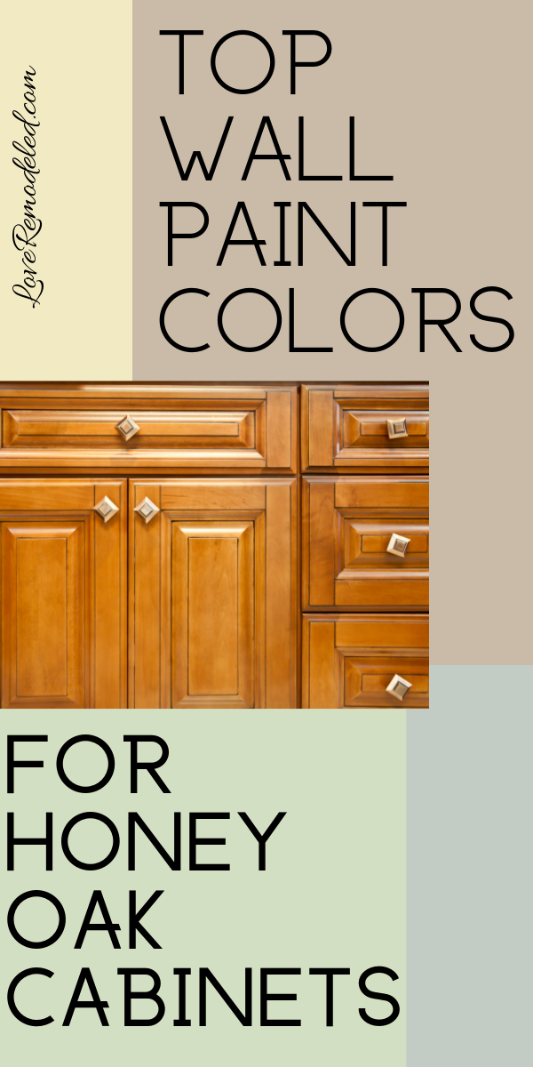 Top Wall Colors for Honey Oak Cabinets