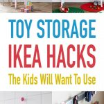 Toy Storage IKEA Hacks the Kids Will Want To Use - The Cottage Market