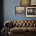 Vintage Leather Chesterfield Sofa