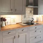 Whereas traditional Shaker kitchens featured timber knobs, it's easy to introduc...