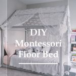 diy montessori floor toddler bed PIN