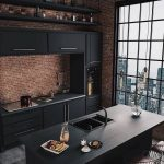 "interior Design İdeas on Instagram: ""Industrial Kitchen by Caroline Kinchesk..."