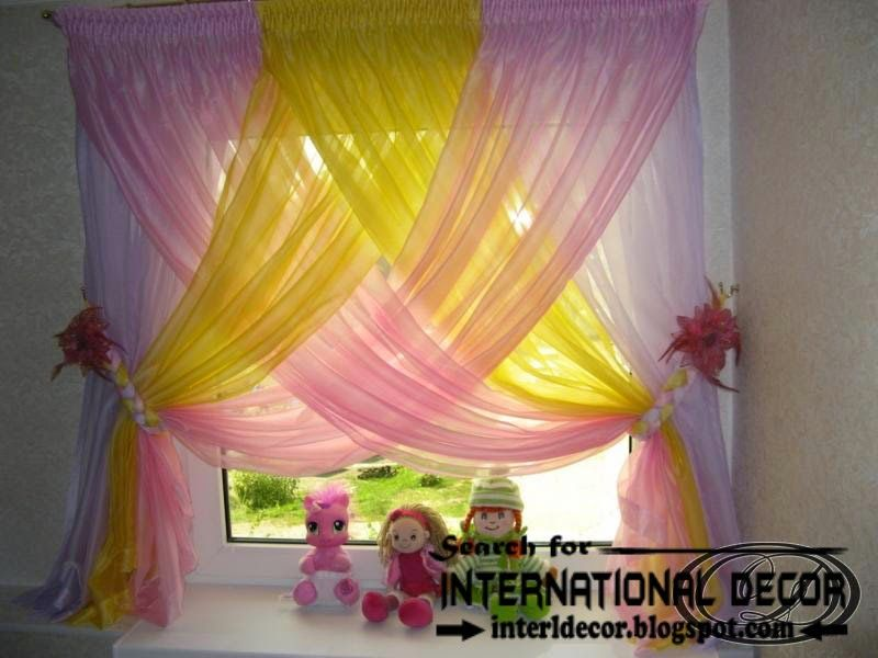 stylish modern curtain designs 2017 curtain ideas colors, colorful kids curtains