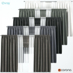 tulle blackout curtains blackout curtains in 5 colors with tulle and roman curta...