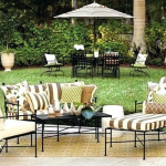 wrought iron patio chair cushions wrought iron chaise lounge patio furniture wit...