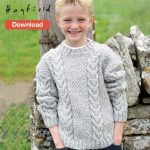 Free Hayfield Aran Knitting Pattern | Knitting | Pinterest | Aran