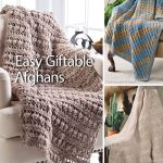 Assorted Afghan Books - Easy Giftable Afghans Crochet Pattern