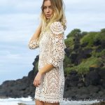 2018 New Summer Sexy Beach Cover Ups Lace Crochet Womens Bathing