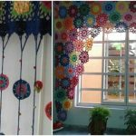 curtains crochet for home | Styles Idea