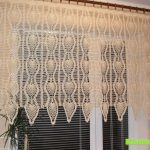 Pineapple window curtain with diagram | Crochet | Crochet Curtains