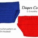Crochet Diaper Cover By I'm Hooked! | Free Pattern | Free Easy