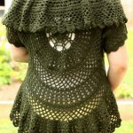 Swing-in-a-Circle Crochet Sweater - Knitting Patterns and Crochet