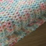 Free Pattern] Lovely, Soft And Insanely Easy Crochet Baby Blanket