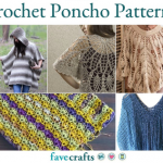 37 Free Crochet Poncho Patterns and Capelets | FaveCrafts.com