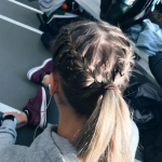 ❀72 Easy And Cute Back To School Hairstyles You Must Try #hairideas #hairschoo...