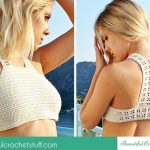 10+ Awesome Crochet Crop Tops For Summer