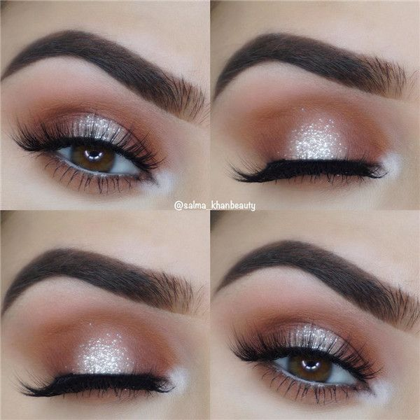 14 Shimmer Eye Makeup Ideas for Stunning Eyes – Schönheit