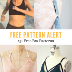 15+ Free Printable sewing patterns for women bra - On the Cutting Floor: Printable pdf sewing patterns and tutorials for women | On the Cutting Floor: Printable pdf sewing patterns and tutorials for women