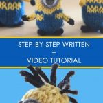 30+Great Photo of Knitting Patterns For Minions #minionpattern Knitting Patterns...