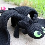 Crochet Toothless Pattern from How to Train Your Dragon