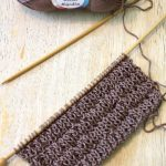 Super Easy Knitted Dishcloth (with Free Pattern)