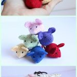 Crochet Amigurumi Garden Animal Toys Free Patterns