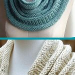 Free Knitting Pattern for Easy One Skein Copycat Cowl