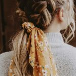 21 Pretty Ways To Wear A Scarf In Your Hair - Fabmood | Wedding Colors, Wedding Themes, Wedding color palettes