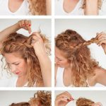 Hair Tutorials : tutorial curly braided top knot - Beauty Haircut | Home of Hairstyle Ideas & Inspiration, Hair Colours, & Haircuts Trends