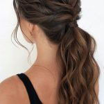 53 Best Ponytail Hairstyles { Low and High Ponytails } To Inspire - Fabmood | Wedding Colors, Wedding Themes, Wedding color palettes