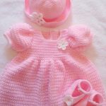 Free Crochet Patterns for Baby Dresses 2019 new Season - Page 22 of 51 - Kids Crochets