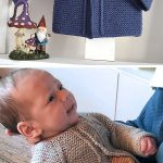 Easy One Piece Baby Sweater Knitting Patterns