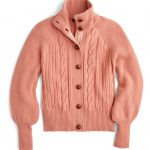 J.Crew Balloon Sleeve Cable Knit Cardigan (Regular & Plus Size) | Nordstrom