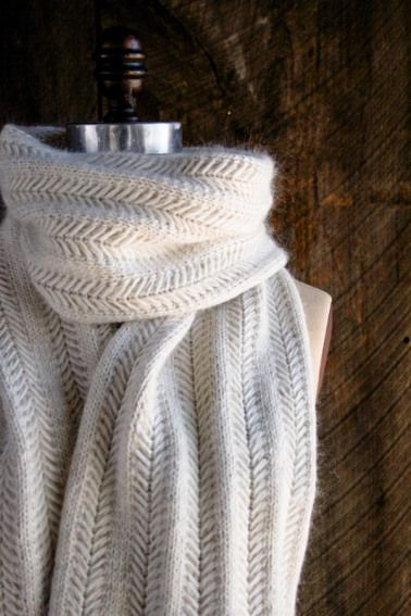 Elegant and FREE Scarf Knitting Patterns – The Lavender Chair