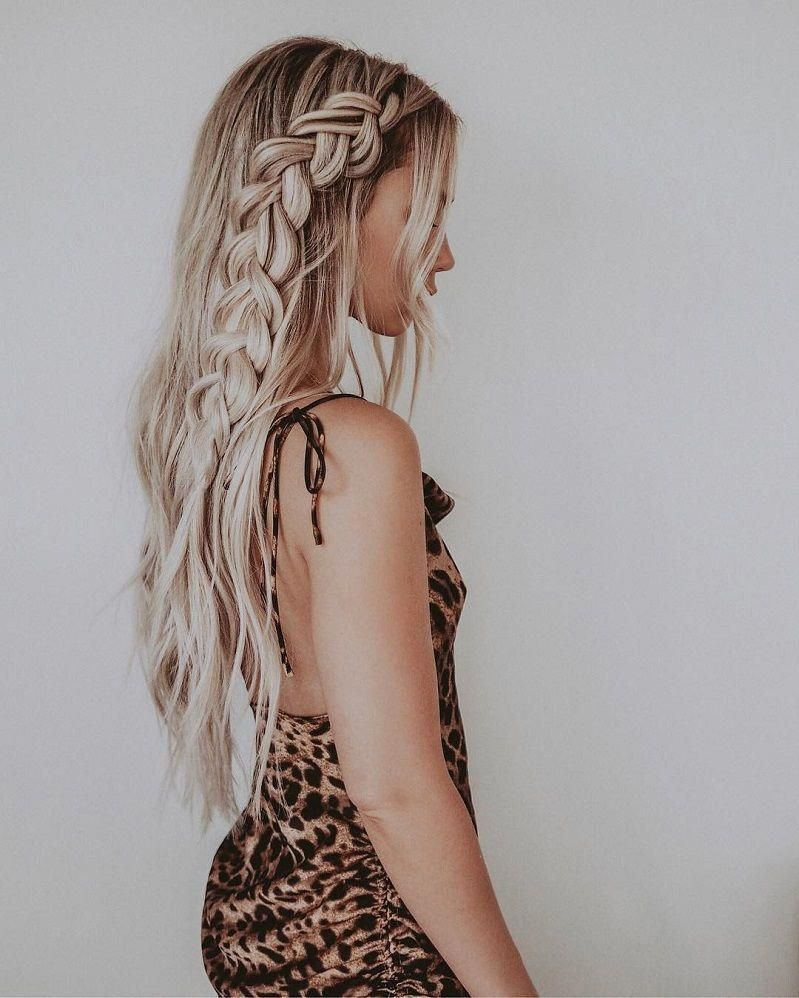 72 Braid Hairstyles That Look So Awesome – Fabmood   Wedding Colors, Wedding Themes, Wedding color palettes