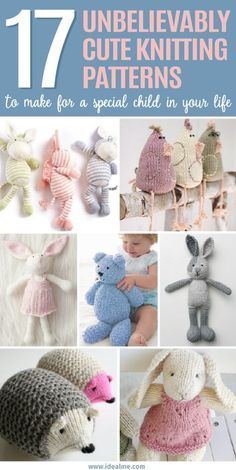 17 Unbelievably Cute Toy Knitting Patterns – Ideal Me