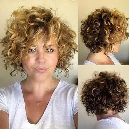20 Short Curly Cuts for Stylish Ladies | Short Curly Hairstyles