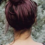 21 Chocolate Brown and Lilac Hair Looks