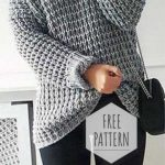 23+ Ideas Knitting Patterns Free Sweater Jumpers Crochet Cardigan