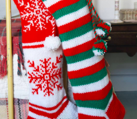 25 Free Knitting Patterns For Christmas Stockings | Knitting Blog Pattern Duchess