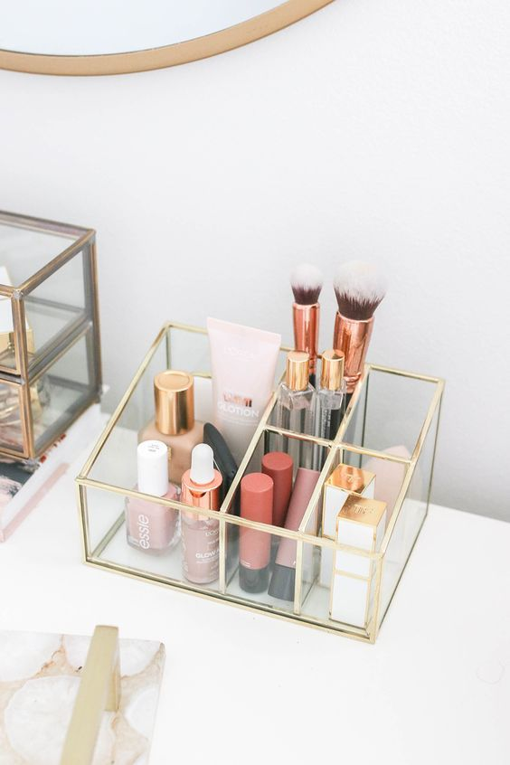 27 Cool Makeup Storage Ideas That Will Save Your Time – Molitsy Blog